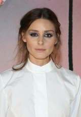 Olivia Palermo's hair and make-up at the Karl Lagerfeld X Kaia Capsule Collection Launch in Paris, 2 Oct 2018 | celebrity beauty