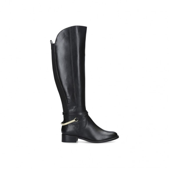 CARVELA PARADING contoured knee-high boot in black