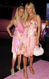 Paris Hilton and Nicole Richie
