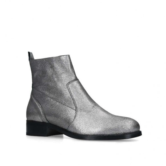 CARVELA SAIL ankle boot in metal combination – metallic chelsea boots