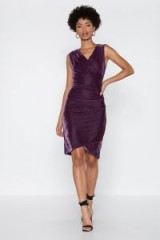 NASTY GAL To the Gala Velvet Dress in lilac