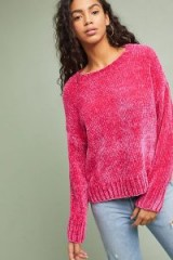 Sanctuary Pink Chenille Jumper | soft feel sweaters