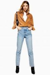 Topshop Bleach Editor Jeans in bleach stone | light-blue denim