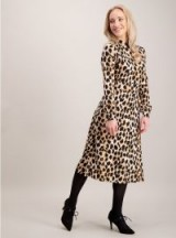 Tu PETITE Multicoloured Animal Print Jersey Dress