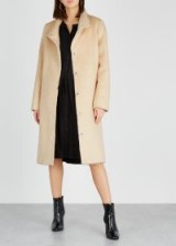 EILEEN FISHER Cream alpaca-blend coat ~ luxe coats