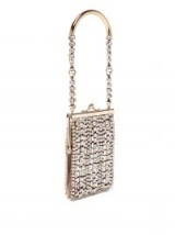 ROSANTICA BY MICHELA PANERO Flo crystal-embellished bag ~ glamorous small event bags