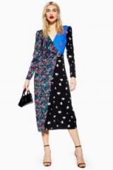 TOPSHOP Grand Estate Mix Midi Dress / floral dresses