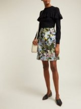 ERDEM Hayden Fassett Dream-print mini skirt