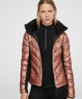 OYSHO Jacket with PrimaLoft® padding in copper   stylish metallic padded jackets