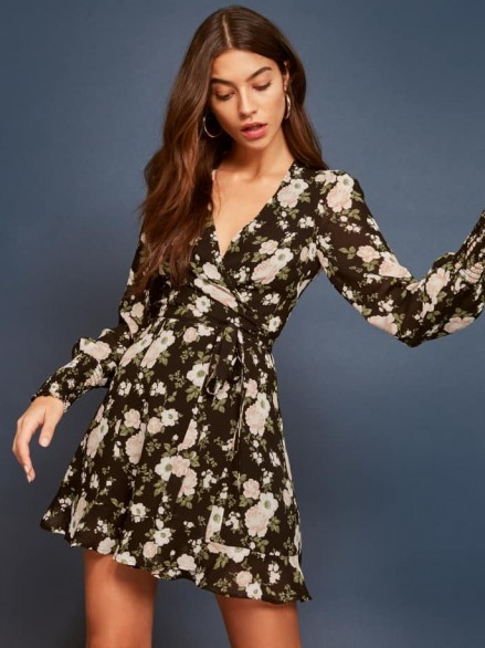 REFORMATION Kerri Dress in Elizabeth Floral Print