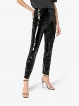 Ksubi Dreams Patent Leather Trousers in Black | high shine pants