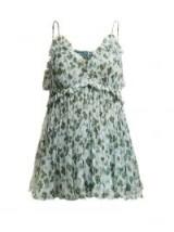 LEE MATHEWS Nina floral-print silk cami top