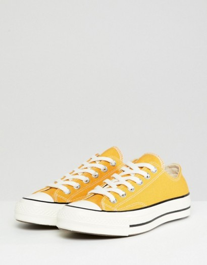 Converse Chuck '70 ox trainers in Mustard yellow – classic sneakers