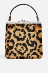 Topshop Kenya Carpet Bag in True Leopard | animal print handbag