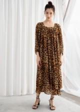 STORIES Leopard Kaftan Maxi Dress. WILD ANIMAL PRINTS