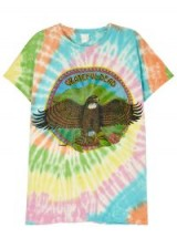 MADEWORN Grateful Dead tie-dye cotton T-shirt / multi-coloured tee