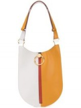 MARNI two-tone shoulder bag | colour block leather handbag