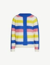 PAPER LONDON Mona mohair and wool-blend jumper in pinkstripe – multicoloured jumpers