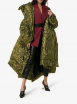 Poiret Oversized Lurex Puffer Coat | winter statement