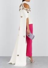 SAFIYAA Alani cream embellished top ~ statement event wear