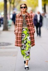 Olivia Palermo in mixed prints ~ celebrity street style outfits