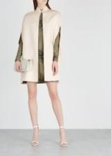 VALENTINO Ecru wool cape ~ chic neutral capes