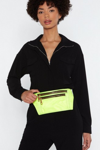 NASTY GAL WANT Neon of Your Business Fanny Pack – SUNNY BUM BAGS