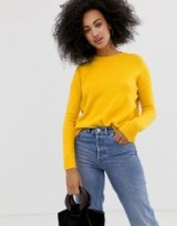 Warehouse crew neck jumper in yellow – BRIGHT JUMPERS