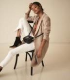REISS ARLA SEAM DETAIL SKINNY TROUSERS OFF WHITE ~ stylish skinnies