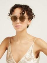 JIMMY CHOO Audrey crystal cat-eye sunglasses ~ luxe eyewear ~ retro summer accessory