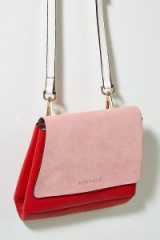NEUVILLE Baby City Crossbody in Pink | colour-block bags