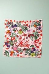 One In A Million Silk Neck Scarf in Pink – floral scarves