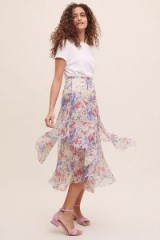 Lily & Lionel Forget Me Not Juno Printed Skirt ~ floaty floral skirts ~ pretty spring clothing