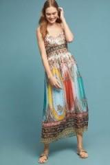 ANTHROPOLOGIE Virginia Dress. MIXED PRINT MAXI DRESSES