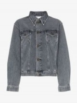 Calvin Klein Jeans Est. 1978 Black Denim Trucker Jacket
