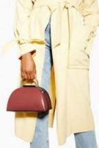 Topshop Ceri Handle Grab Bag in Blush | small luxe style handbag