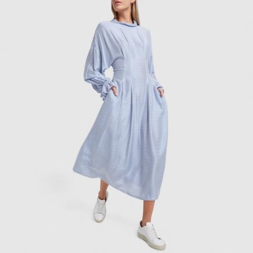 Rachel Comey CLIPSE DRESS in Blue | modern prairie