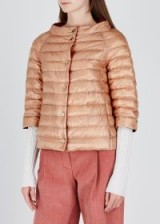 HERNO Rose reversible quilted shell jacket ~ vintage style padded jackets