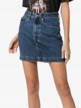 Ksubi Super X Mini Old Skool Denim Skirt