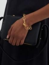 MISHO Leo 22kt gold-plated bracelet ~ link-chain bracelets ~ chic jewellery