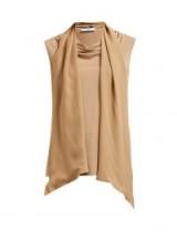 MAX MARA Madera top ~ camel-brown jersey tops