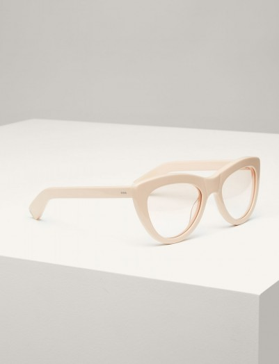 JOSEPH Montaigne Sunglasses in Oyster / retro eyewear