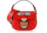 Forzieri MOSCHINO Small Red Leather Teddy Bear Shoulder Bag – don't you think this is just so cute!