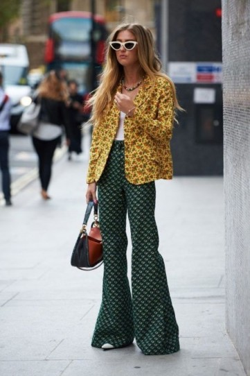 RETRO STREET STYLE OUTFIT / MIX IT UP PRINTS