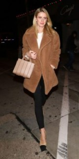 Nicky Hilton Rothschild ~ celebrity winter street style outfits
