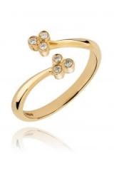 LARK & BERRY Trinity Wrap Ring | dainty diamond jewellery