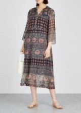 VELVET BY GRAHAM & SPENCER Zendaya printed chiffon dress. MULTI PRINTS