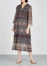 VELVET BY GRAHAM & SPENCER Zendaya printed chiffon dress. MULTI PRINTS
