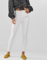 Vero Moda skinny jean in bright white