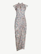 VERONICA BEARD Brynlee silk dress | vintage style dresses | garden party frock